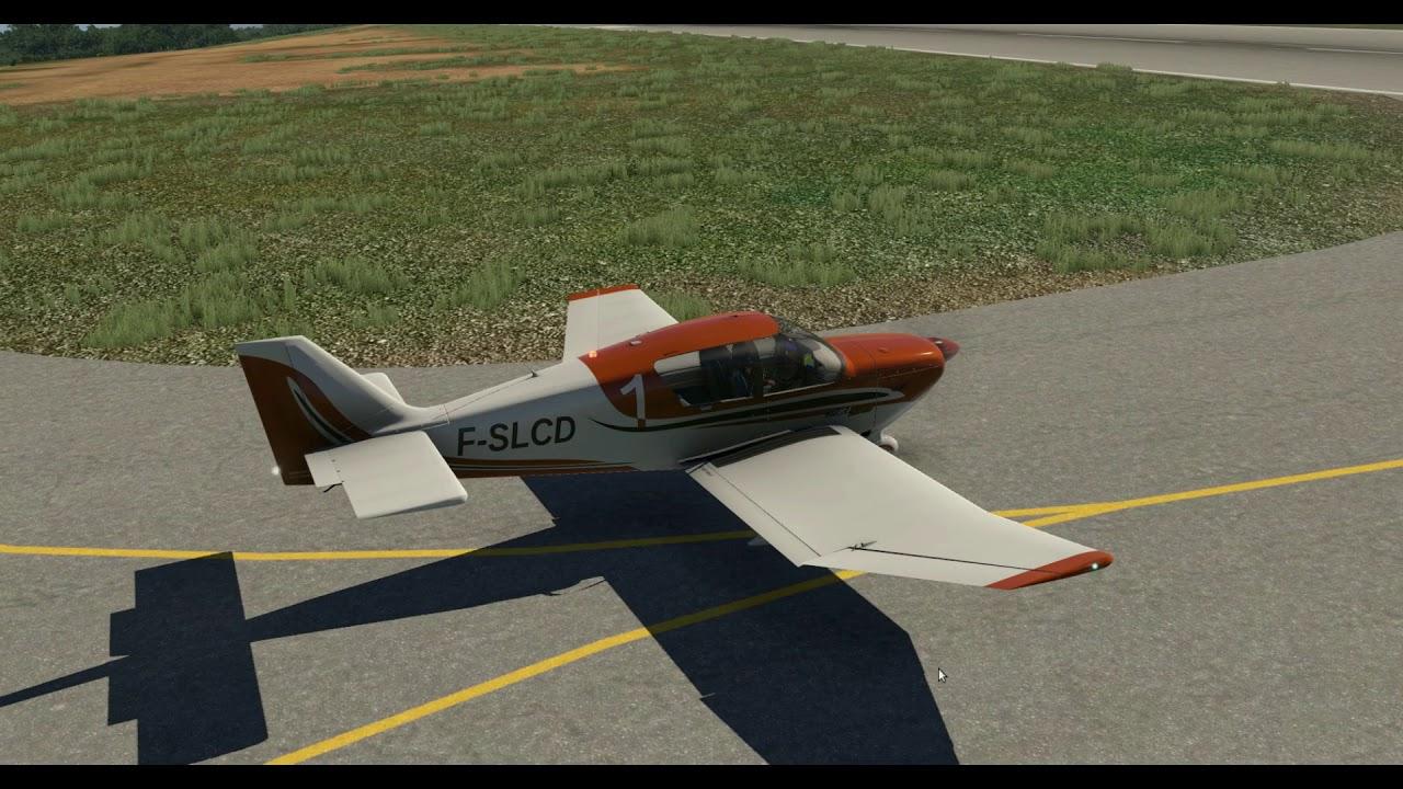 Aerobask Robin DR401 CDI 155 - FMOD Sound test