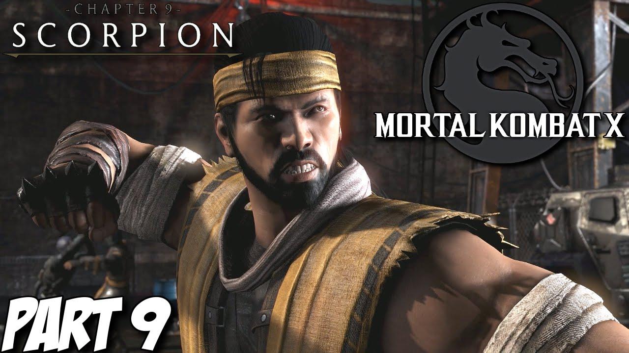 Mortal Kombat X Story Mode Part 9 - Chapter 9: Scorpion (PS4, Xbox One, PC)