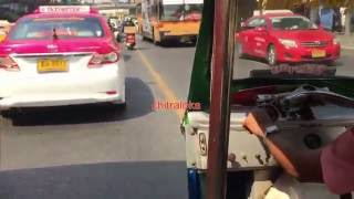 Bangkok Tuk-tuks Drivers Too Violate Rules!