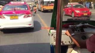 Bangkok Tuk-tuks Drivers Too Violate Rules!