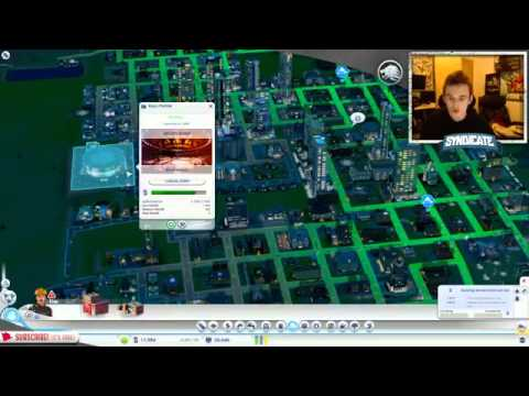 Sim City  The Evolution Of Gotham City   w Syndicate Part 2