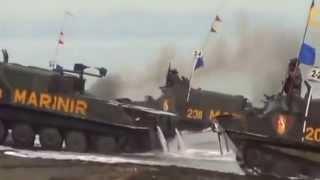 LATIHAN PERANG TNI INDONESIA 2014 GANYANG MALAYSIA