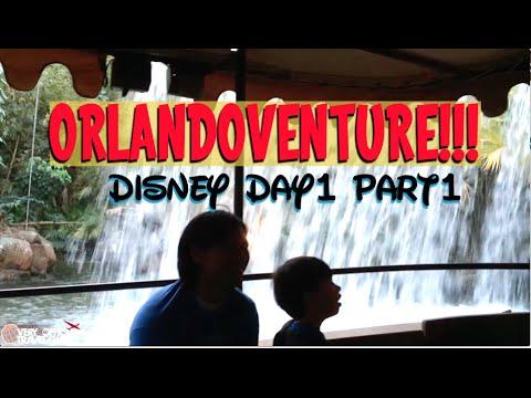 ORLANDOVENTURE!!! Disney Day 1 PART 1