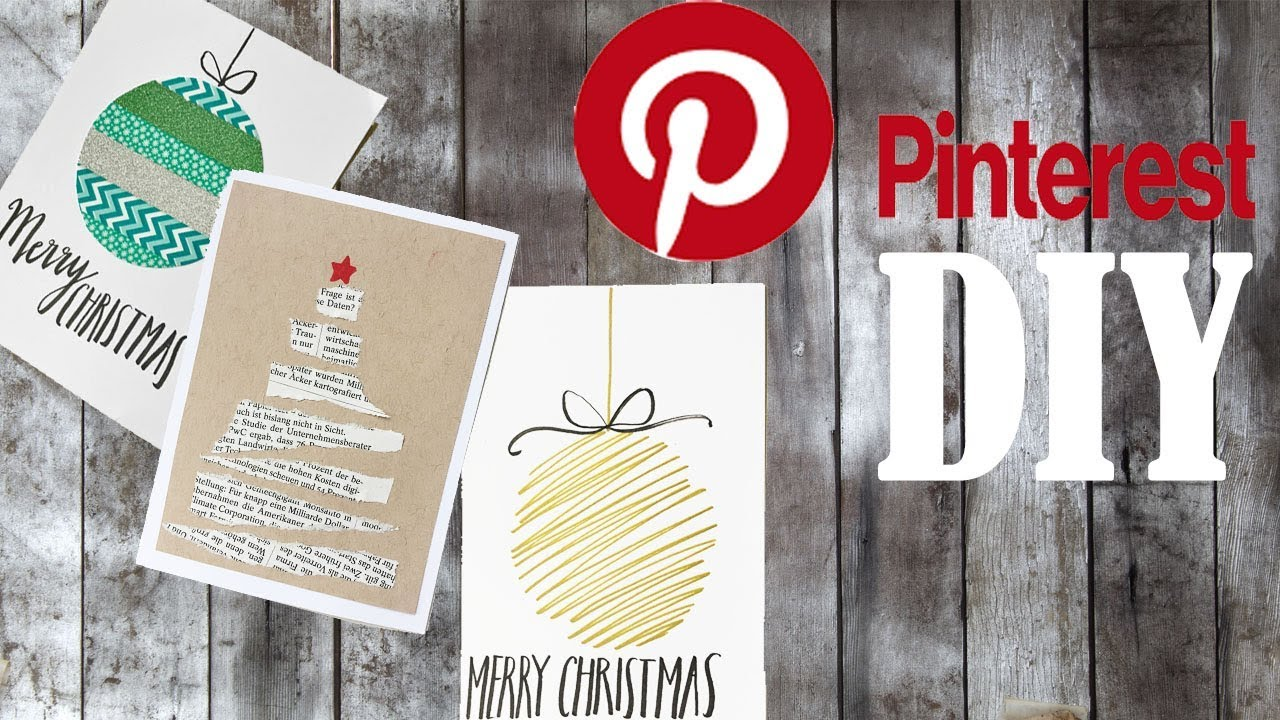 CHEAP and EASY Personal Christmas Cards/Pinterest Christmas Card ...