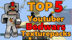 Top 5 Bedwars Texturepacks von Minecraft Bedwars Youtubern!