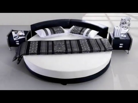 Round Bed Designs For Bedroom Design Lovers - YouTube