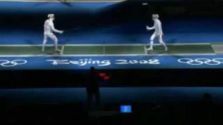 Beijing 2008 - MSI - L16 - Covaliu ROU v Zhou CHN - 1 of 2