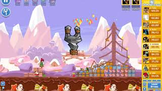 Angry Birds Friends/ SantaCoal i CandyClaus tournament, week 293/2, level 1