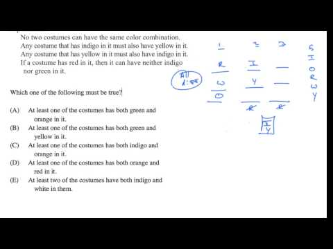 Grouping setup - Given info: must be true example 3 | Analytical Reasoning | LSAT | Khan Academy
