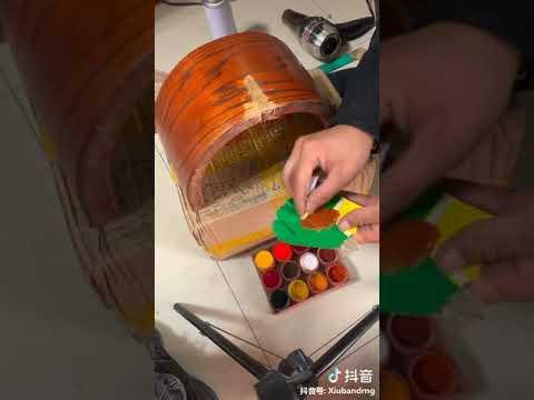 Починка деревянной детали при помощи табака