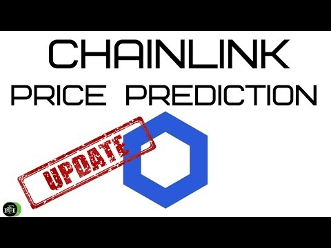 CHAINLINK PRICE PREDICTION (UPDATED) - YouTube