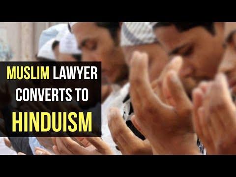 Bihar Muslim Lawyer, Sons Convert To Hinduism