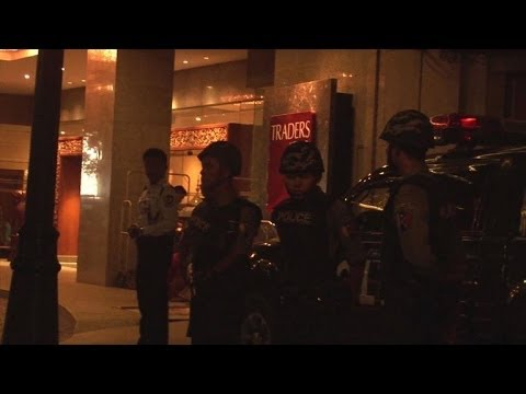 Police: suspected bomb blast at Myanmar luxury hotel
