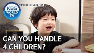 Can you handle 4 children? [Trio's Childcare Challenge/ENG/2019.08.21]