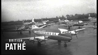 Dublin Airport Closed By Fuel Strike (1959)