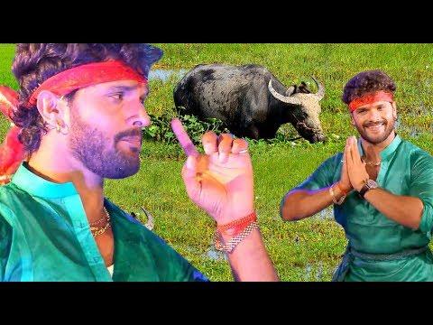 HD VIDEO - रहली भईस चरवईया Gawaiya Tunhi Banwalu Na - Khesarilal Yadav Superhit Dj Navratri Song