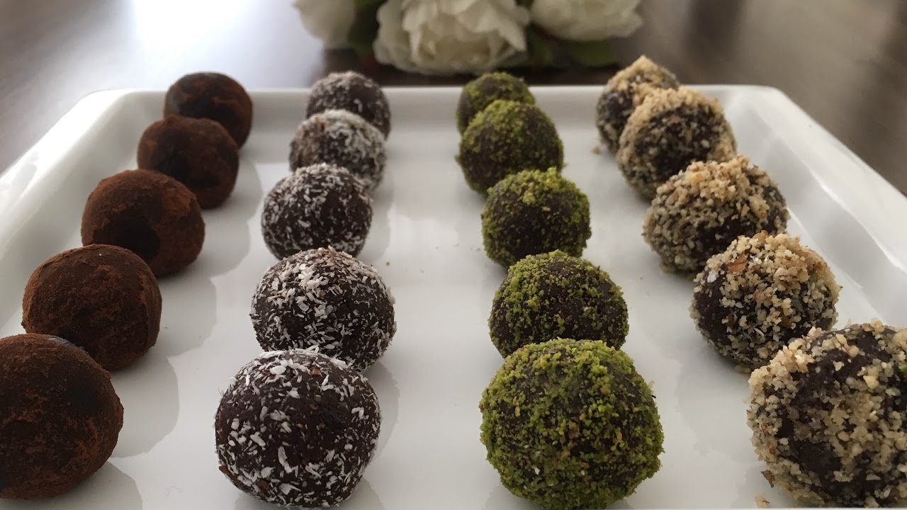 10 Dakikada Yapılan Çikolata Topları Tarifi