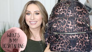 WHAT IS IN MY HOSPITAL BAG & DIAPER BAG | SCHEDULED C SECTION