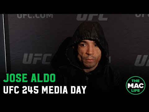 Jose Aldo Talks Cut To 135lbs; Reflects On McGregor Fight Anniversary