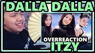 ITZY - DALLA DALLA [달라달라] MV OVERReaction [THIS IS WIIIIILD!]