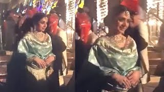 Sridevi's Last Video At Family Wedding In Dubai Before PASSING AWAY