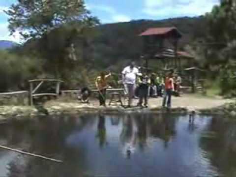 pesca de truchas en el valle MERIDA VENEZUELA