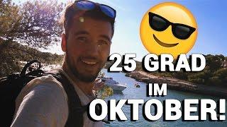 BESSER GEHT´S NICHT! 25 GRAD im Oktober auf Mallorca!