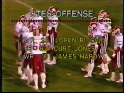 Univ of Utah vs Univ of New Mexico Football 10/18/1986
