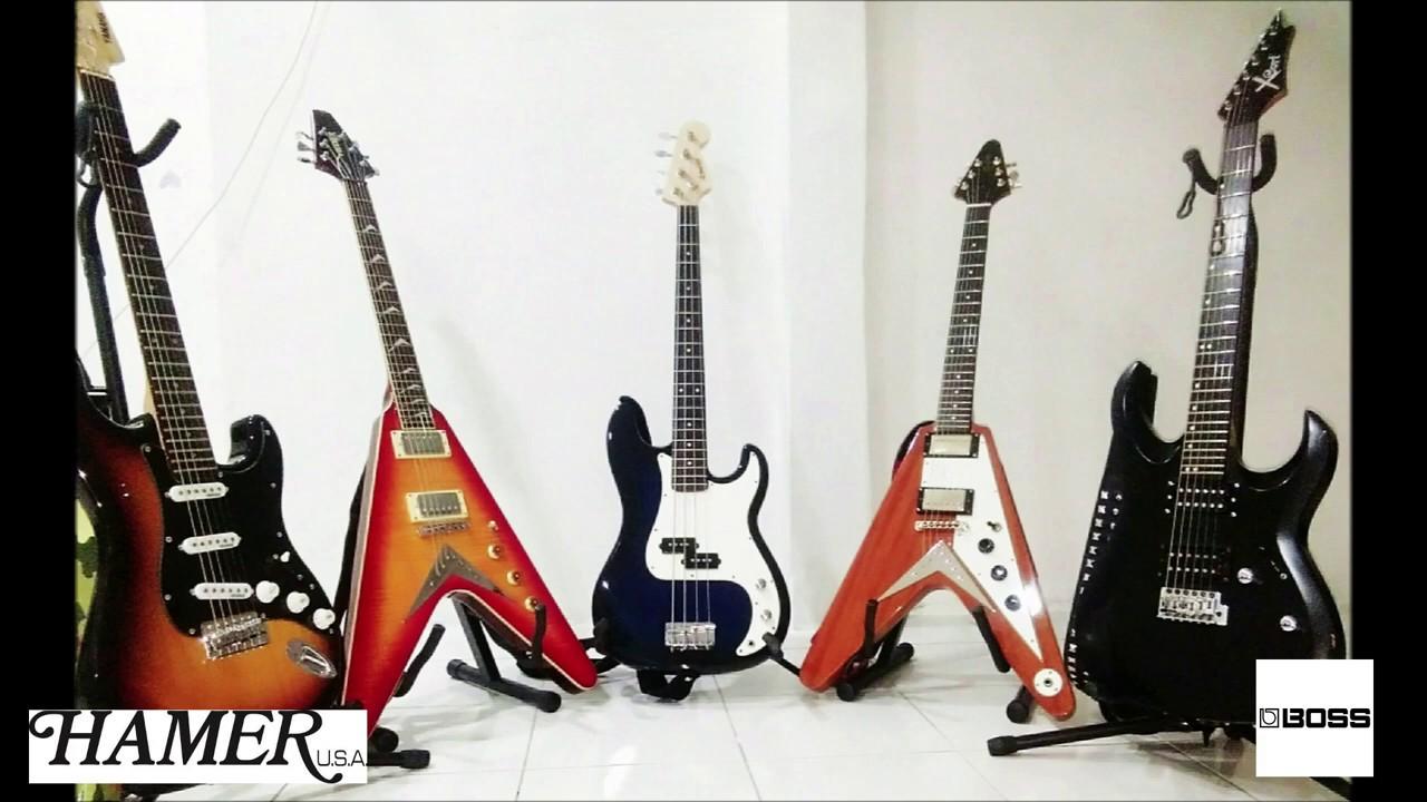 New Guitar Day! Hamer Vector XT Series Flying V Guitar & BOSS Gt1 Fx Pedal