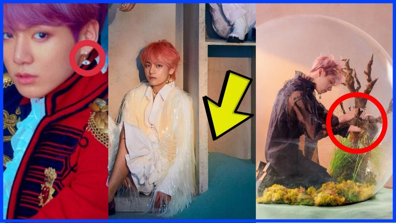 Bts Love Yourself Answer Concept Photo E S Explained Youtube