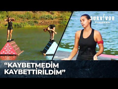 Aleyna Melis'i Düşürdü Mü?    Survivor Panorama 83. Bölüm