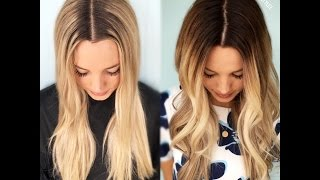 DEMARCATION LINE TO MELTED BLONDE| FORMULA INCLUDED thumbnail