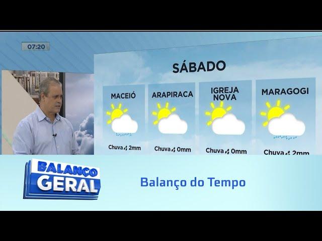 Balanço do Tempo: Confira a previsão do tempo e a tábua da maré para o fim de semana