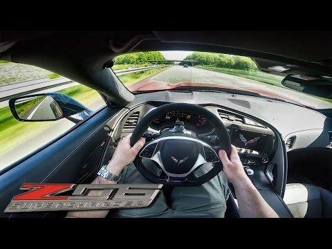 Corvette Z06 ACCELERATION POV On AUTOBAHN 702HP By BBM Motorsport