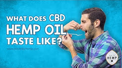 What Does Hemp Taste Like? | CBD Taste Test