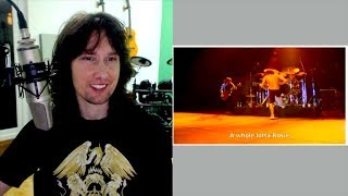 British guitarist reacts to Angus Young's live nightmare scenario!