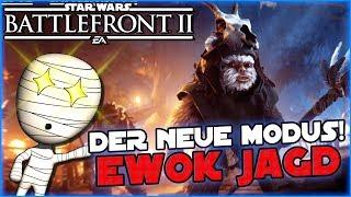 Ewok Jagd! Neuer Modus Gameplay! - Star Wars Battlefront II #89 - Lets Play Commentary HD