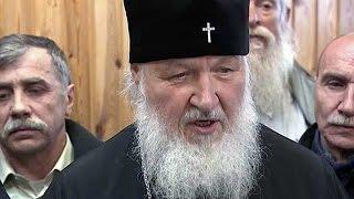 Патриарх Кирилл в Антарктиде(Такое происходит впервые в истории. Патриарх Кирилл побывал на российской исследовательской станции
