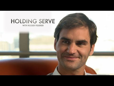 Holding Serve With Roger Federer