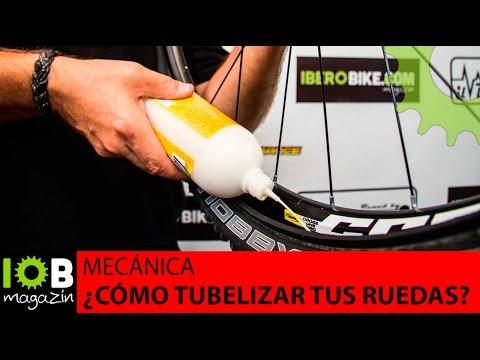 Mecánica de la bicicleta: Tubelizar ruedas con X-Sauce