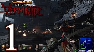 Warhammer: The End Times Vermintide Walkthrough - Gameplay Part 1 - Prologue