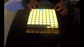 Protocol X - Finger Drumming Friday Ep.65  (Ableton push performance)