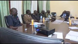 Video THE MINISTER OF INTERIOR MAI AHMED FATTY HELD A CLOSED DOOR MEETING WITH SECURITY HEADS download MP3, 3GP, MP4, WEBM, AVI, FLV November 2017