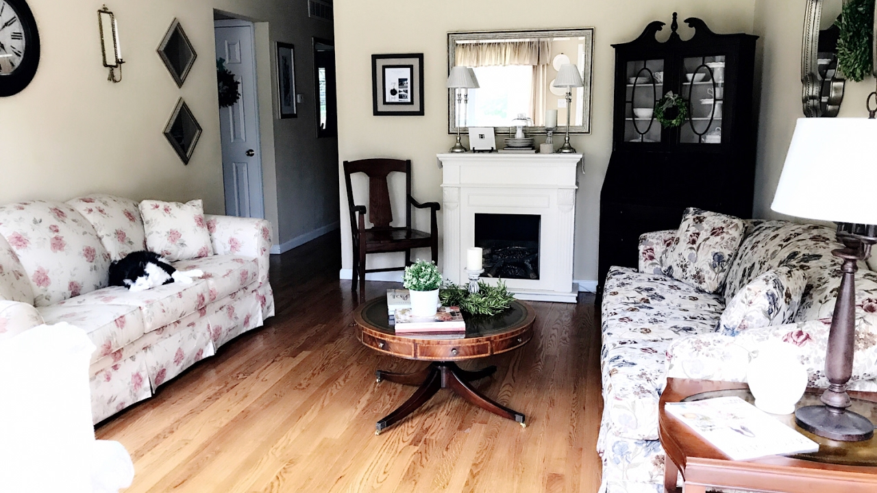 Formal Living Room || Transforming Spaces - YouTube