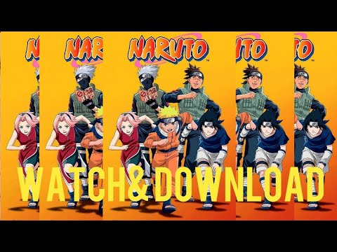 How To Watch & Download Naruto Sub/English Dub Online In Low Data