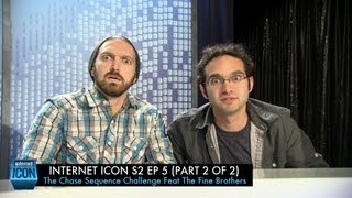 Internet Icon S2 Ep5 - The Chase Sequence Challenge (Part 2 of 2) Feat The Fine Brothers
