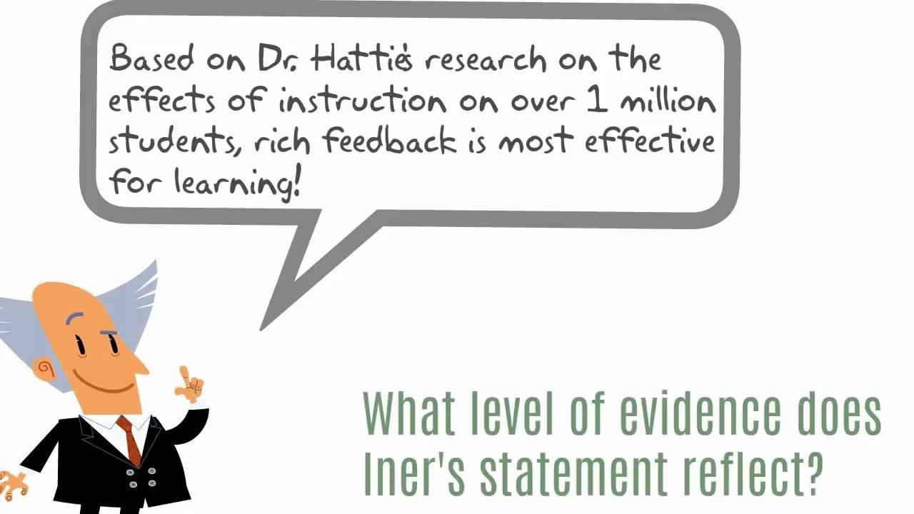 Evidence Based Education Primer Youtube