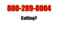 800-289-8004 Calling For No Reason? Stop it Here