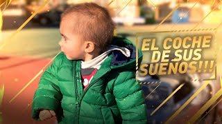 LE REGALO EL COCHE DE SUS SUEÑOS A MI HIJO DE 2 AÑOS !!! REACCIÓN !!!