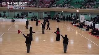 KUMAMOTO vs KAGAWA 10th All Japan Interprefecture Ladies KENDO Championship 2018 1st Round